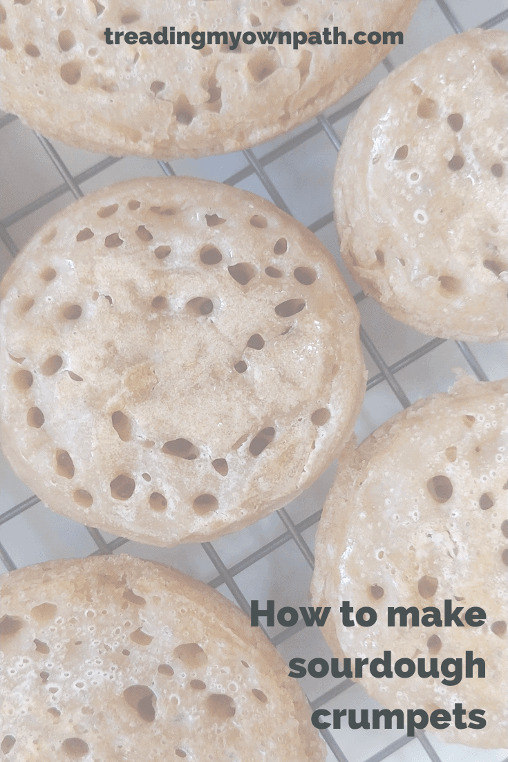 How to make sourdough crumpets (a recipe)
