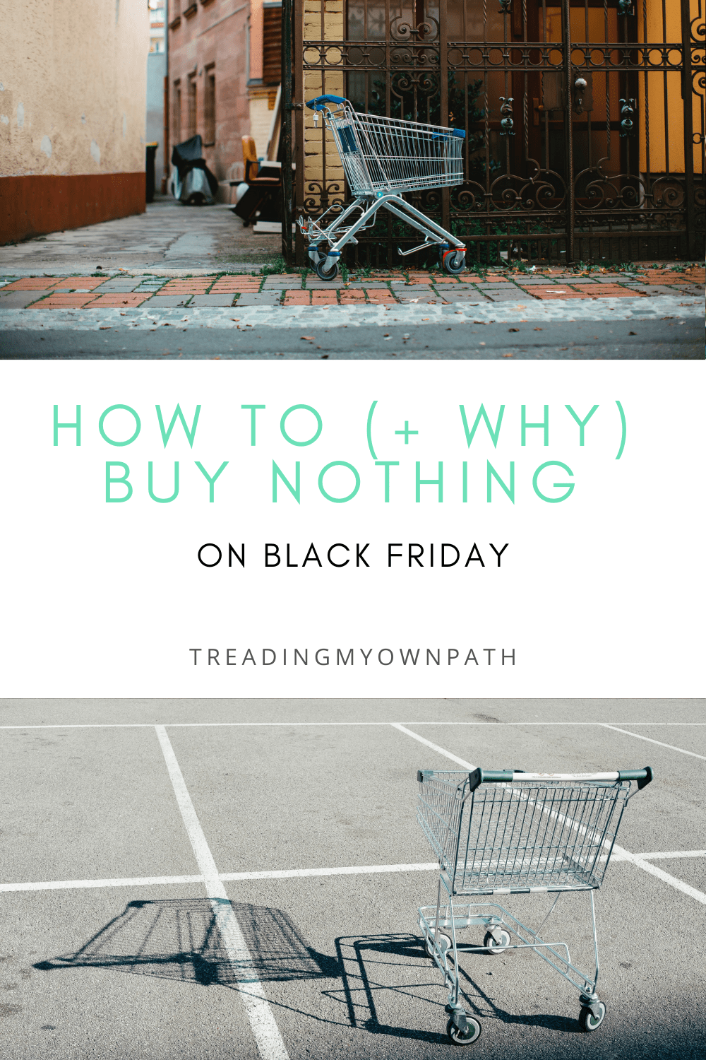 How to buy nothing on Black Friday