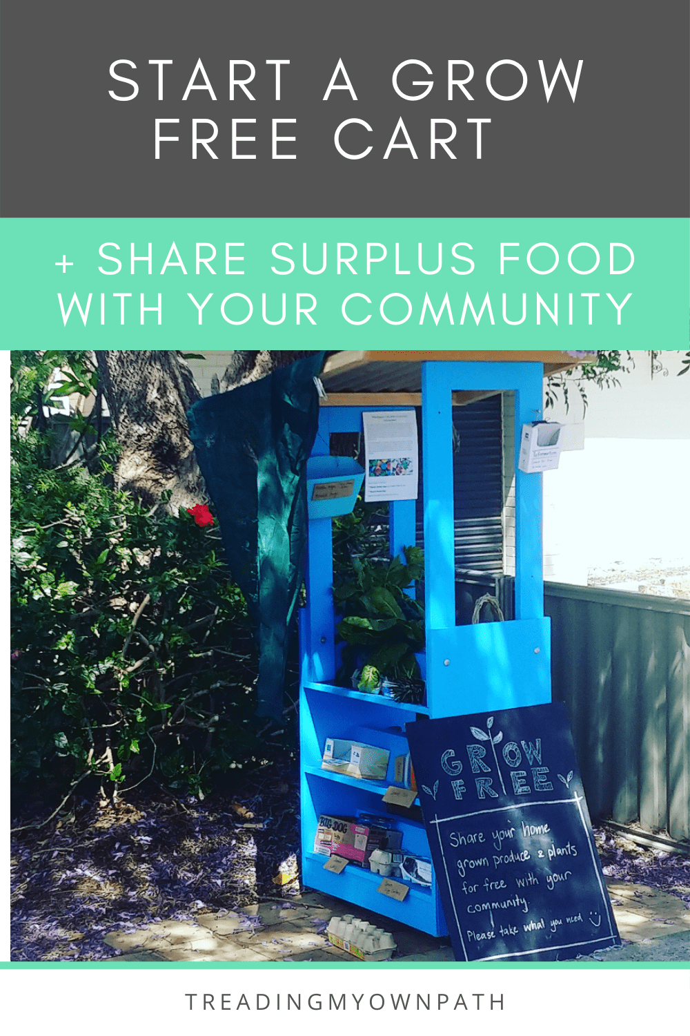 How to start a Grow Free Cart (+ share surplus produce with your community)
