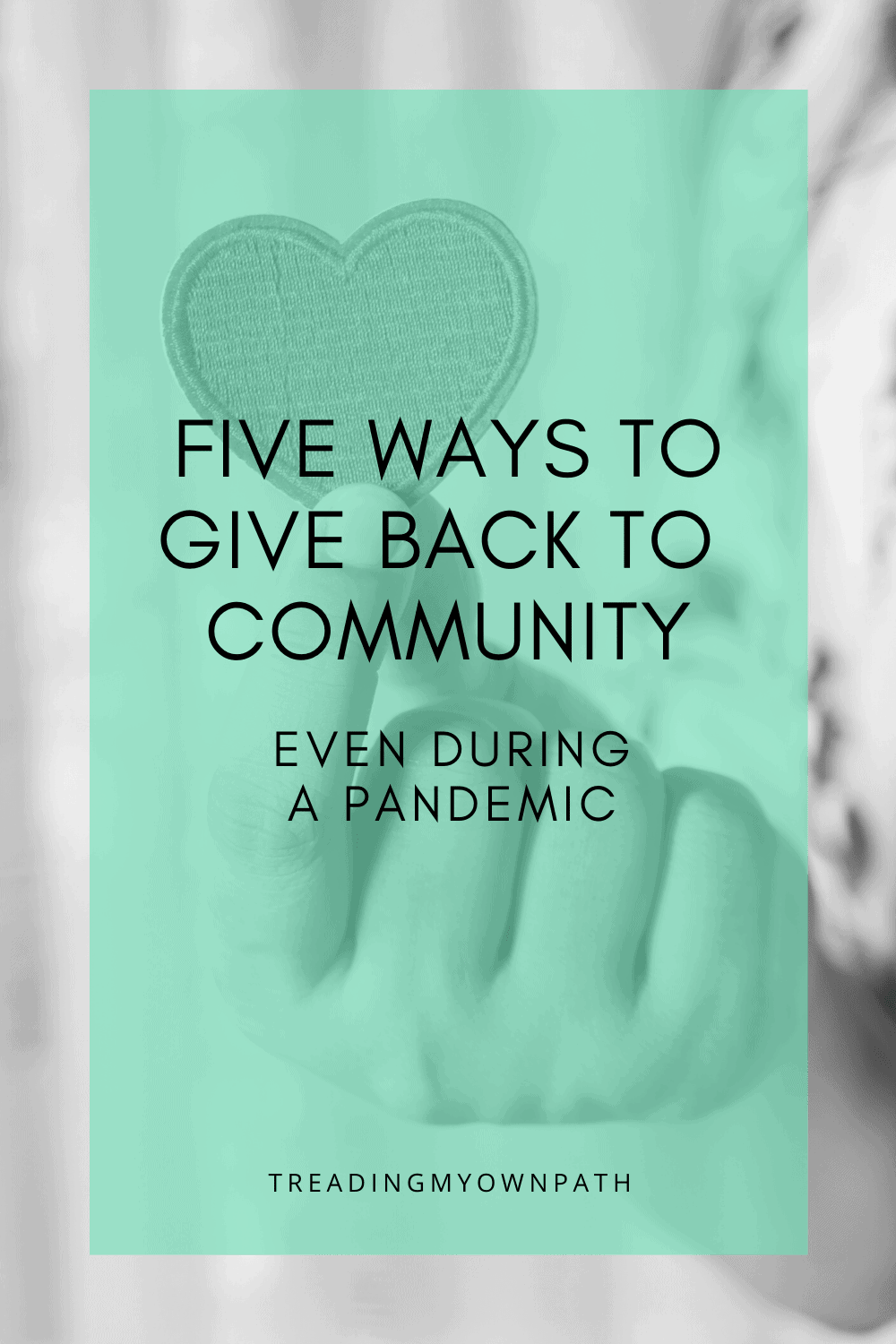 5 ways you can give back to your community (even under lockdown)